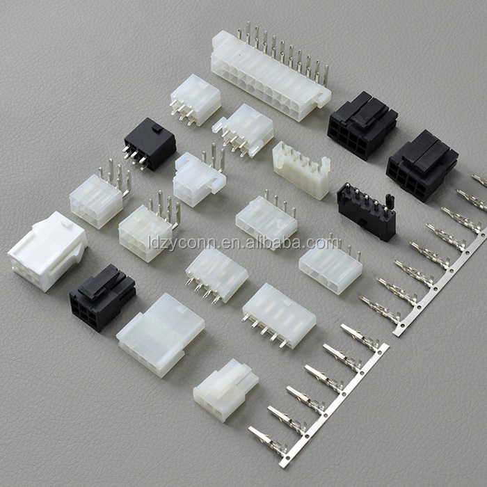 14 pin UL94V-0 dual row electronic 4.2mm pitch mini fit replaces molex 39-01-2145