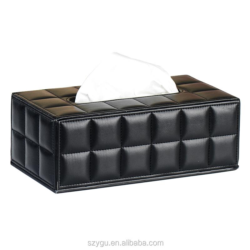 Kotak Tisu Kulit PU Mewah untuk Rumah, Hotel, Kotak Tisu Mewah, Kotak Tisu Kulit PU untuk Rumah