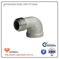 ss Stainless Steel Pipe Fittings Sanitary ECC Reducer 304 ASME