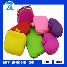 2017 The most fashionable colorful silicone bag for women Silicone handbag