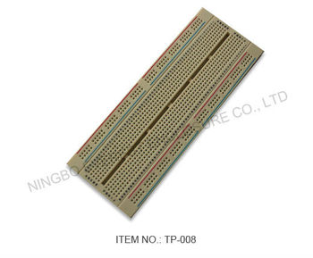 SAMPLE FREE Electronics component, Best 840 Tie points Solderless Breadboard with 1 terminal strips