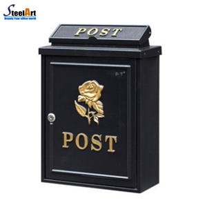 Hot sale modern design outdoor metal mailbox made in China