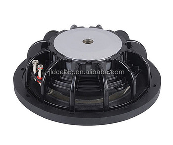 RMS300W/Max power 600W Made in Jiaxing Jinlida Electron company 12inch car subwoofer audio with foam surround