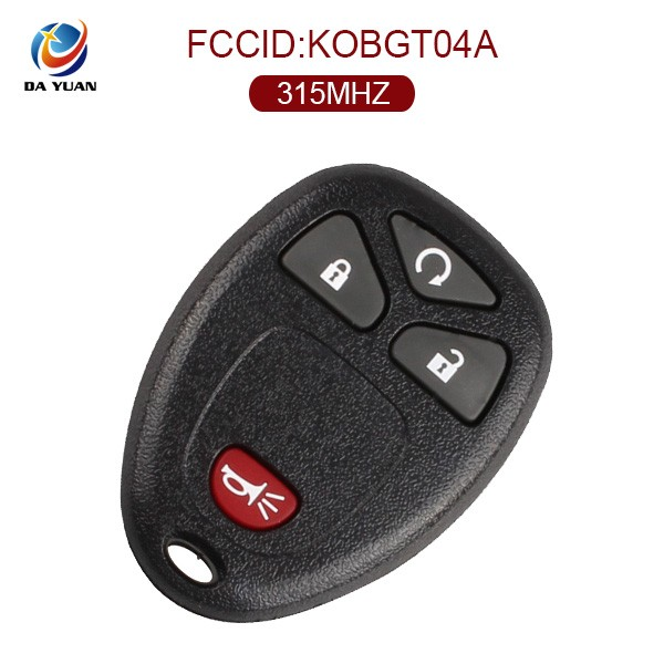 4 button with 315Mhz Remote Start Car Key Fob for Buick for Chevrolet Pontiac [AK019004]