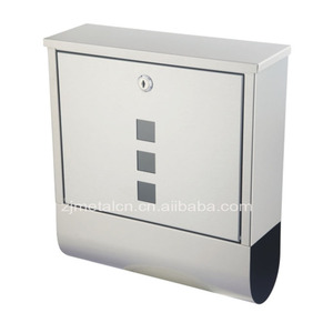 Wholesale New Age Products stainless steel lockable mailbox