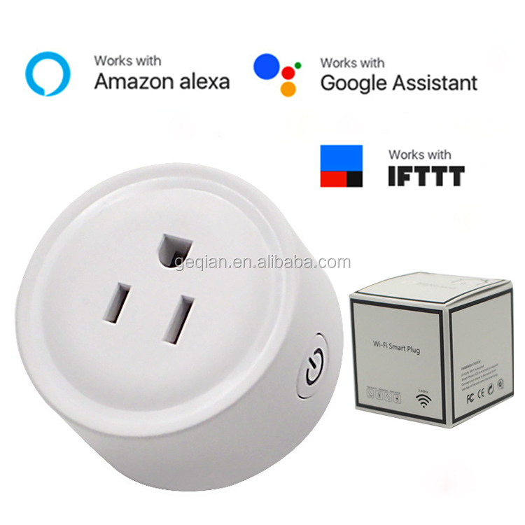 GRSICO Wifi Intelligent Wirelessly Controlled US Timer Plug Adapter with Alexa Smart
