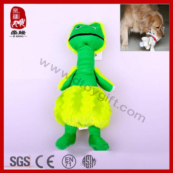 Soft Plush toy lizard plush dog toy with BB sounder