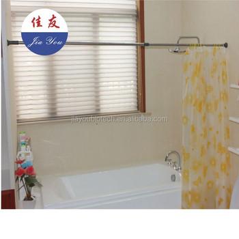 JYXF DIY Extendable Bathroom Shower Curtain Rod JYY 618