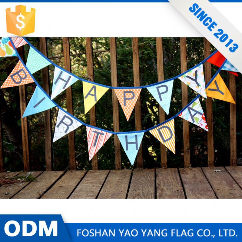 Best Selling Products Custom Design Party Happy Birthday Banner