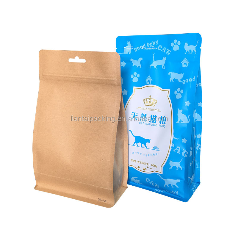 China Supplier Customized Mylar Plastic Heat Seal Pouches Aluminum Foil Ziplock Stand Up Food Packaging Bag