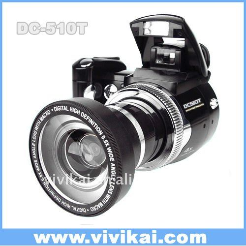 Hot selling Slr type 12MP Digital camera with 2.4inch TFT screen and wide angle lens from OEM&ODM factory