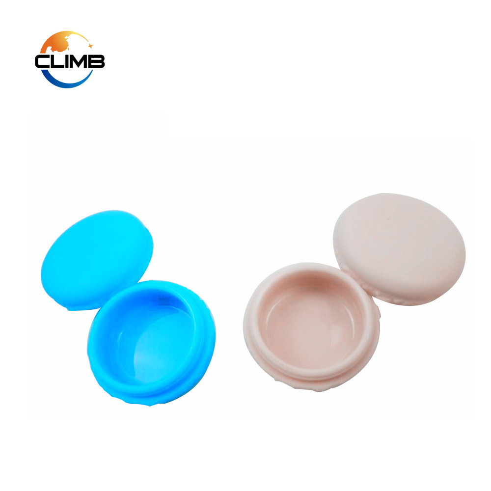 Cute Design Shape Macaron PP Plastic Fancy Beauty Cosmetic Pearl Cream Jars 10g Plastic Container with Lids