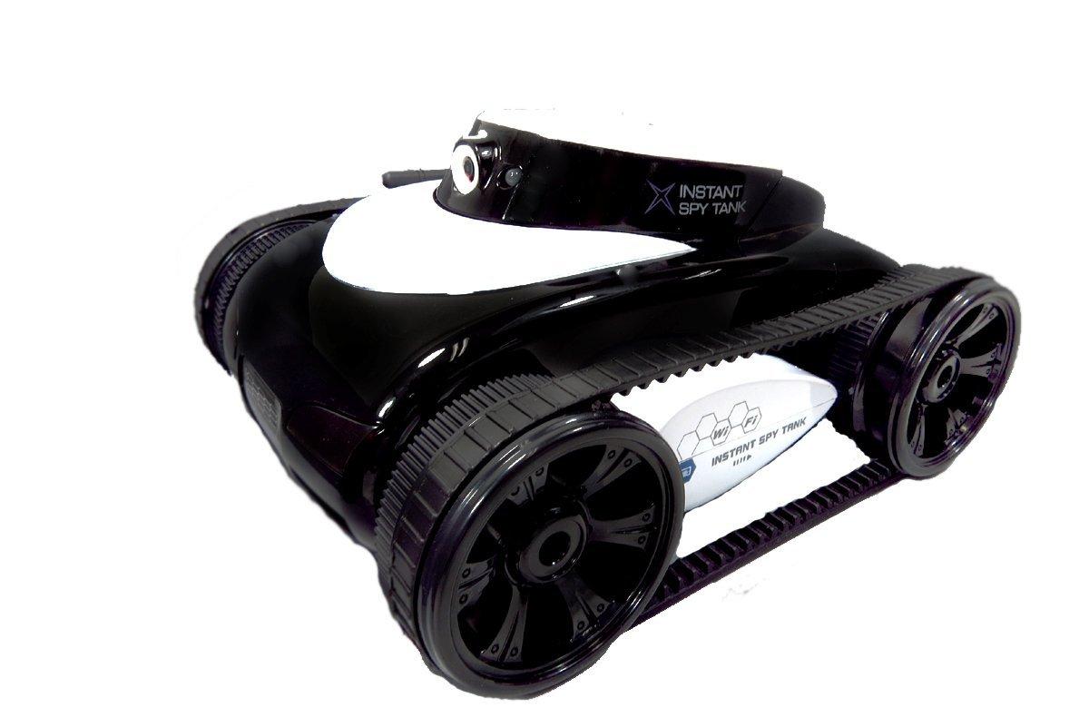 I-SPY TANK Wi-fi Night Vision Camera Live Stream App and Remote Controlled (Black)