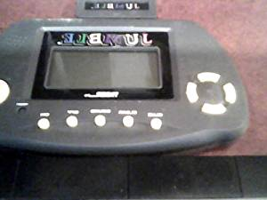 1998 Tiger Electronics Tribune Media Services Jumble Lcd Interactive Electroninc Hand-held Game with Jumble Starter Cartridge ( Jumbo Registered Trademark and Copyright of 1998 Tribune Media Services, Inc. & Registered Trademark of 1998 Tiger Electronics, Inc)(batteries 2 X Aaa or Lr03)