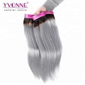 Yvonne Different Color Gray Pink Blue Blonde 2 Tones 3 Tones Hair Extension