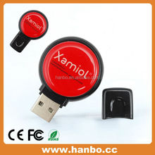 Promotional round mini usb rca cable 512mb usb flash disk