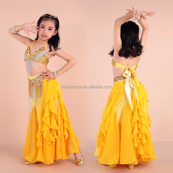 f56491128c0b Bestdance Child Girls Belly Dance Costume Indian Outfit Bollywood ...