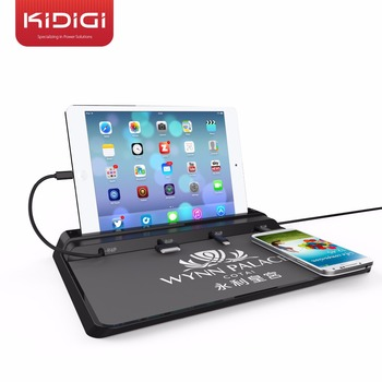 Universal Charging Station Advertising Desk For Iphone6 5 5s4