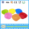 Alibaba high quality Non-stick silicone pet dog food bowl
