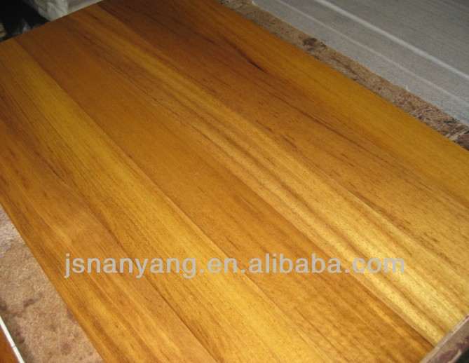 wholesale Iroko tropical hardwood flooring with CE, FSC, ISO