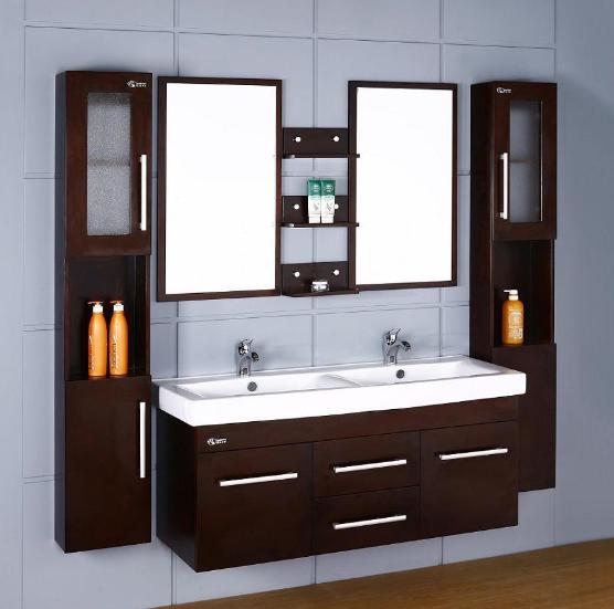 Hotel Double Sink Bathroom Vanity