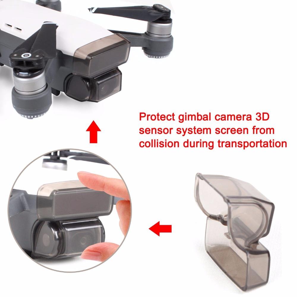 DJI Spark Accessories Propeller Stabilizer + Gimbal Cover + Lens Hood + Landing Gear Leg Extenders + Motor Cover + Finger Guard