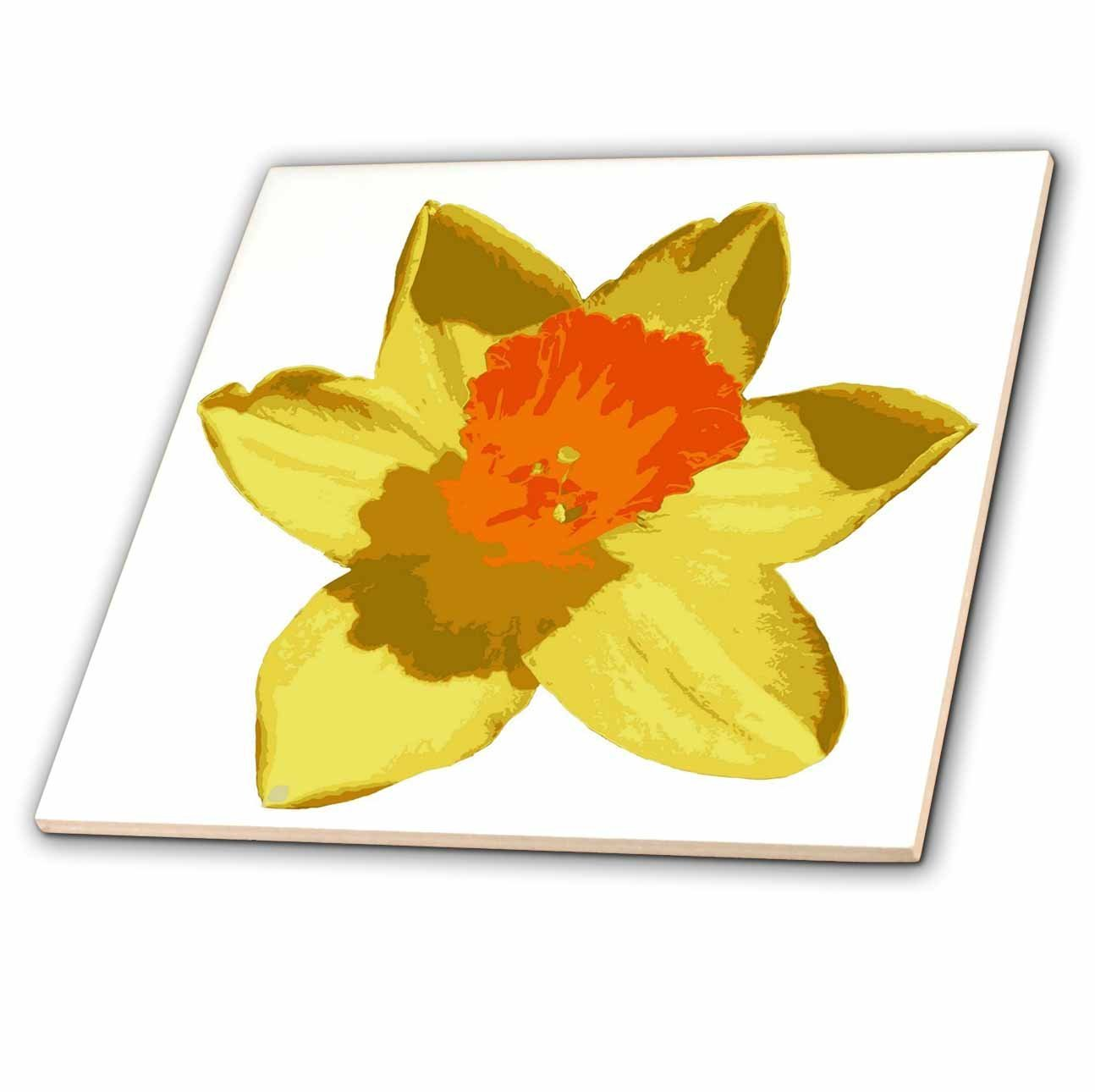 Spring Daffodil Floral Windtail Windsock