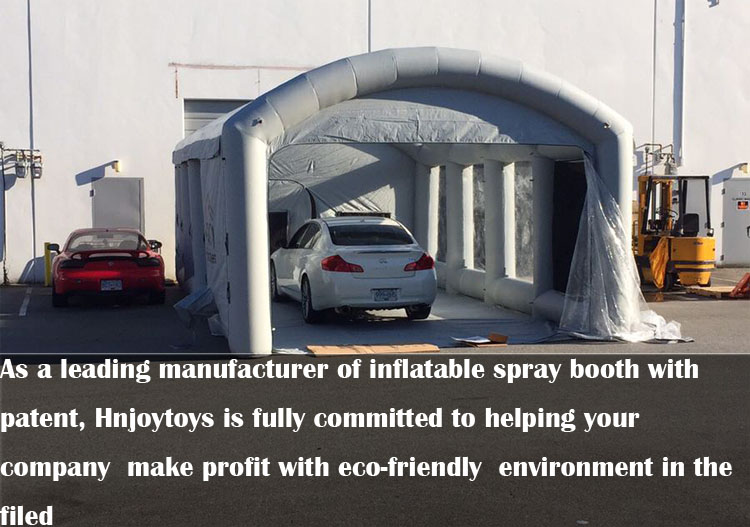 Hot sale CE approved electrostatic spray booth/car body paint/portable cabins used