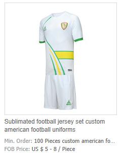 Green soccer uniforms 98c1d5ef708d2
