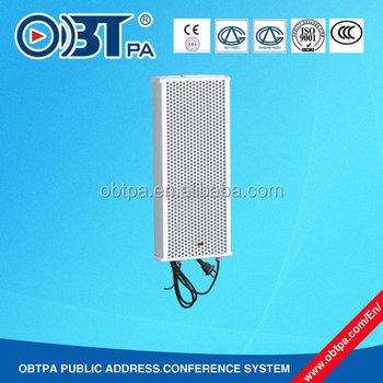 Full Digital Ip Network Audio System Poe Active Column Speaker ...