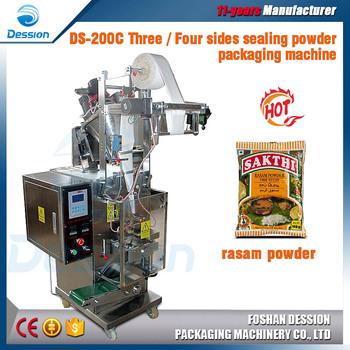 Full Automatic Indian Rasam / Pepper Powder Packaging Machine ...