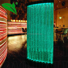 modern LED bubble tube wall used home and hotel furniture for sale malaysia