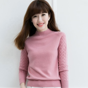High quality warm 100% wool sweater pullover sweater