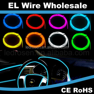El Wire Kits Battery Operated Electroluminescent Lights