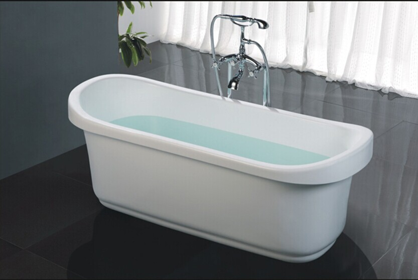 Hs b521 1200mm 1500mm square bathtub bathroom bathtub mini for Small baths 1100