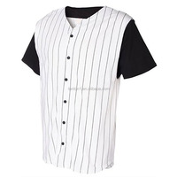 Sublimation custom blank baseball jersey wholesale baseball shirts