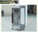 Glass door electric rotary chicken grill machine, duck rotisserie grill/vertical roasted meat machine