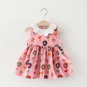 2018 Nuevo Verano Explosivos Modelos Lindo Bebé Niño Vestido Niñas Princesa Vestido De Moda Simple Chica Vestido Buy Vestidosvestidos Para
