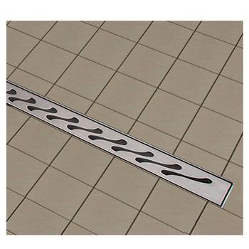 Long Linear Stainless Steel Bathroom Sink Part Garage Floor Drain