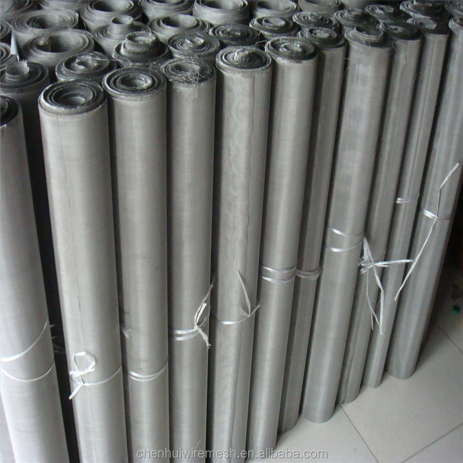 High quality twilled weave stainless steel wire mesh