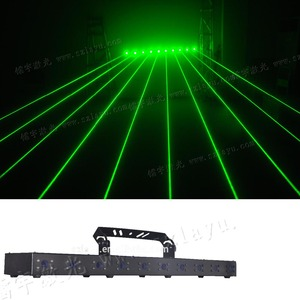 New high power 1.5w rgb or single color dmx Lazer Show Light rgb laser disco lighting with 10 laser beam parallel nice effects