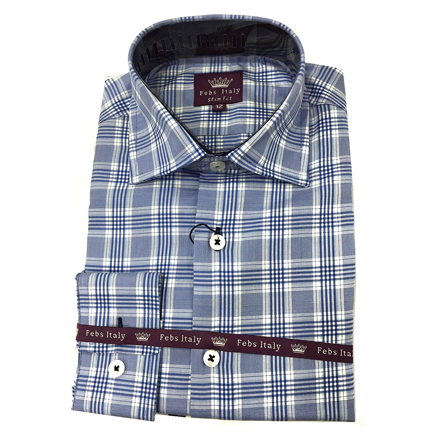 Clothing, Shoes & Accessories Casual Button-down Shirts Reasonable Tailorbyrd Mens Multi Red Plaid 100% Cotton Ls Button Dress Shirt Nwt L $98