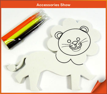Lovey Lion Painting Arts And Crafts Drawing Toy For Kids Buy