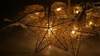 Waterproof Led Christmas Light Vintage Patio Globe Star String ...