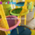 Colorful Leaves Lily Pad Steps Kids Climbing Netting Indoor Playground Playland