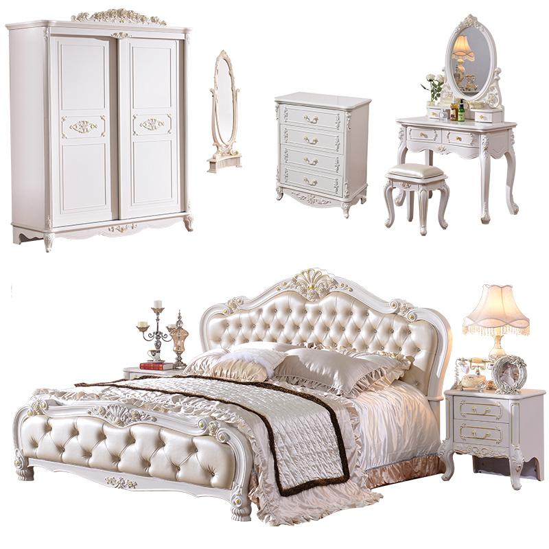 Antike klassischen barocken kolonial reproduktion - Antike schlafzimmer ...