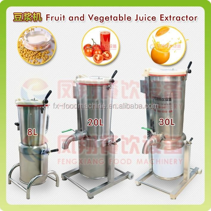 FC-310 stainless steel industrial blender/juice making machines