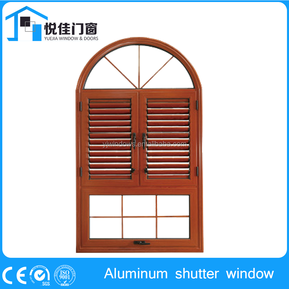 Clssical custom aluminum shutters windows