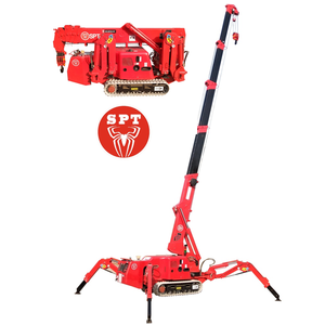 SPT899 is mainly used in narrow places where large cranes cannot expand