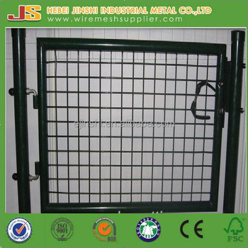 2015 China factory hot sale Welded Metal Garden Fence safety Gates